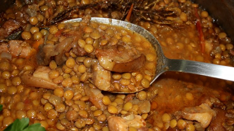 Les llenties i els plats de cullera són els que més apeteixen a l'hivern