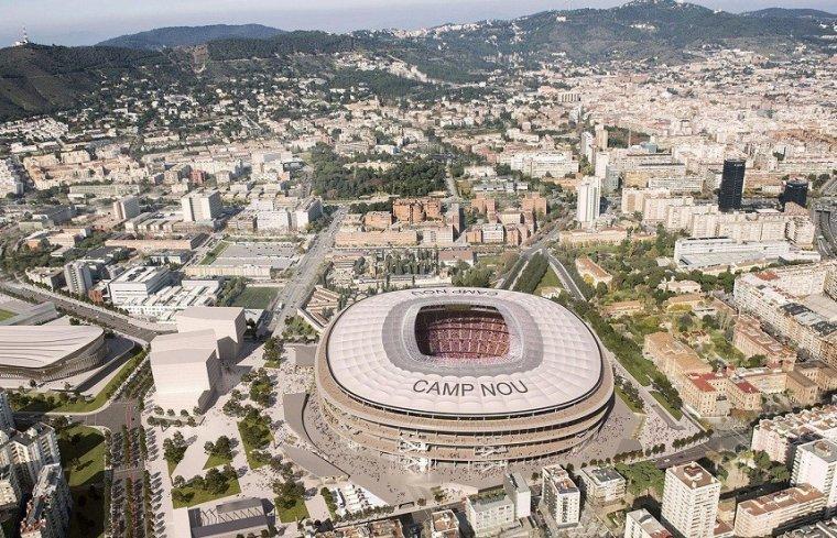 Maqueta del nou 'Esapi Barça'