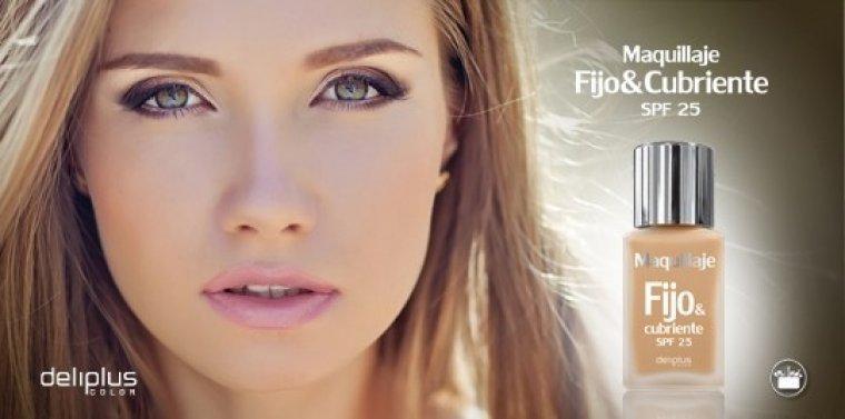 Maquillatge 'Fijo&Cubriente' de Deliplus, marca de bellesa de Mercadona