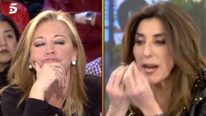 Belén Esteban i Paz Padilla discuteixen per un comentari sobre Jesulín
