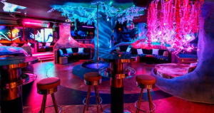 El Blue Night, club de striptease de Barcelona