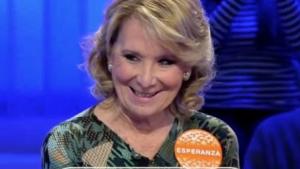 Esperanza Aguirre critica pel seu pas per 'Pasapalabra'