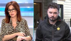 Gabriel Rufián també ha parlat dels pressupostos generals de Sánchez al programa