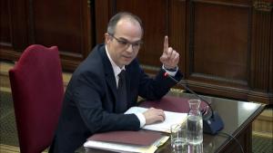 Jordi Turull, durant el judici