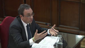 Josep Rull, declarant al Suprem