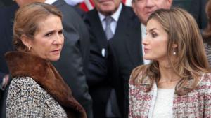 La reina Letícia no perdona que la seva cunyada Helena donés suport a Cristina en el cas Nóos