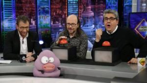 Pablo Motos, Santiago Segura iFlorentino Fernández a 'El Hormiguero'