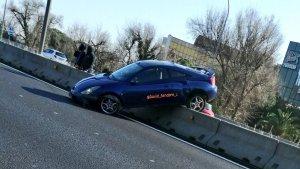 Un accident a la B-23 provoca retencions entre Esplugues de Llobregat i Martorell