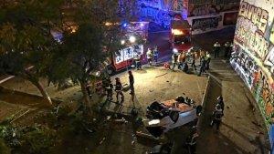 Accident Barcelona