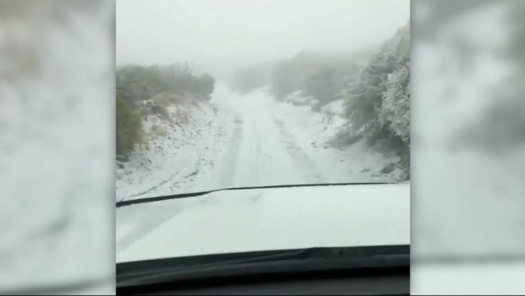 Imatge de la nevada a Hawaii