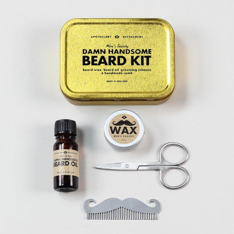 Per als homes que tenen barba, aquest kit és un regal perfecte