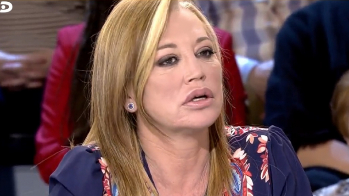 Belén Esteban explica a 'Sálvame' els motius pels quals no va visitar Jorge Javier a l'hospital