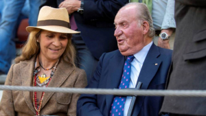El rei emèrit i la seva filla gran van gaudir d'una tarda de toros