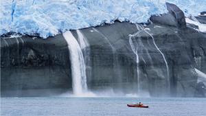 Imatge del desgel a Groenlàndia