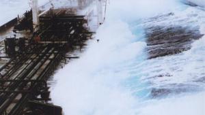 Les onades gegants cada vegada són més destructives