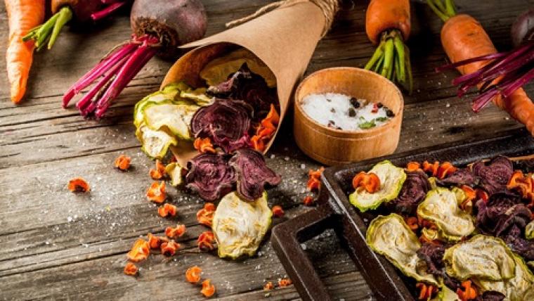 Aperitiu de verdures fregides