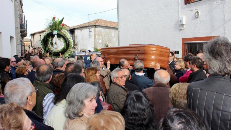 Enterrament de José Pinto dijous passat