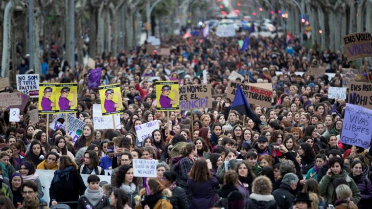 Vaga feminista del 8 de març de 2018