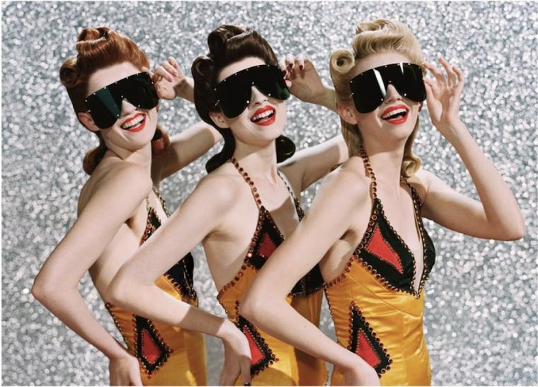 Les ulleres de sol es portaran grandària maxi i de disseny futurista