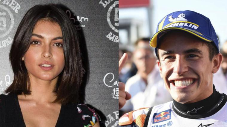 Marc Márquez i Lucía Rivera són parella