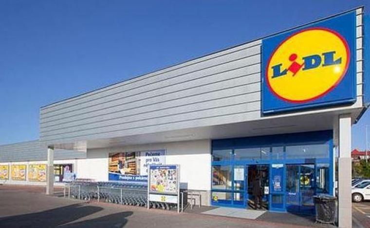 Un establiment de la cadena de supermercats Lidl