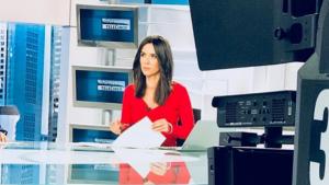Alba Lago en els informatius de Telecinco