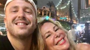 Ana Obregón es va instal·lar a Nova York amb el seu fill