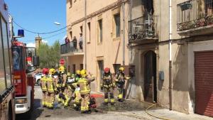 Dos incendis originats a l'Empordà deixen un ferit amb afectacions lleus