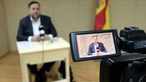 El líder d'ERC ha criticat la postura de PSC i PSOE, i ha declarat que «el referèndum és inevitable»