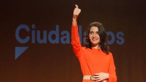 Inés Arrimadas adverteix a ERC i PNV sobre la reforma electoral que C's vol impulsar