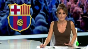 Maria Martínez, periodista presentadora de la secció d'esports de La Sexta, ha demanat disculpes per les seves paraules