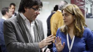 Marta Pascal arremet contra Puigdemont: «Catalunya no es pot dirigir des de Waterloo»