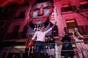 Pedro Sánchez, el gran triomfador de les eleccions generals