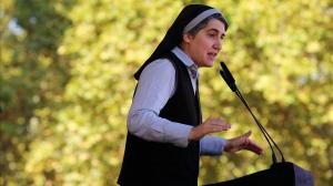 Teresa Forcades, cofundadora de Porcés Cosntituent, torna al convent després de quatre anys