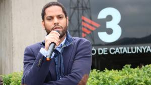 VOX, en un discurs davant els estudis de TV3: «Ha estat una màquina de guerra»
