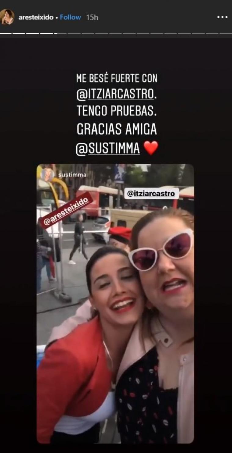 Ares Teixidó i Itziar Castro a la Petonada de Barcelona 2019