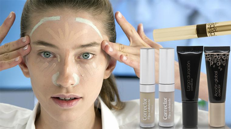 Imatge de la varietat de correctors de maquillatge de Deliplus