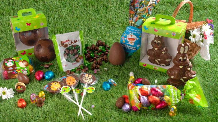Varietats de figures de xocolata de Mercadona