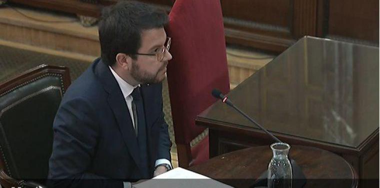 Pere Aragonès ha decidit no declarar al Tribunal Suprem