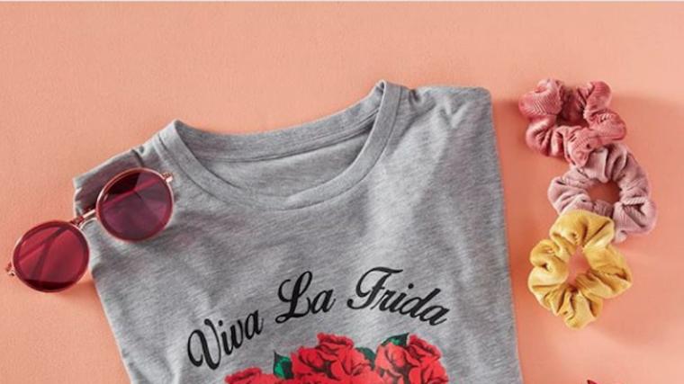 Primark ha posat a la venta una samarreta amb l'estampat de Frida Kahlo
