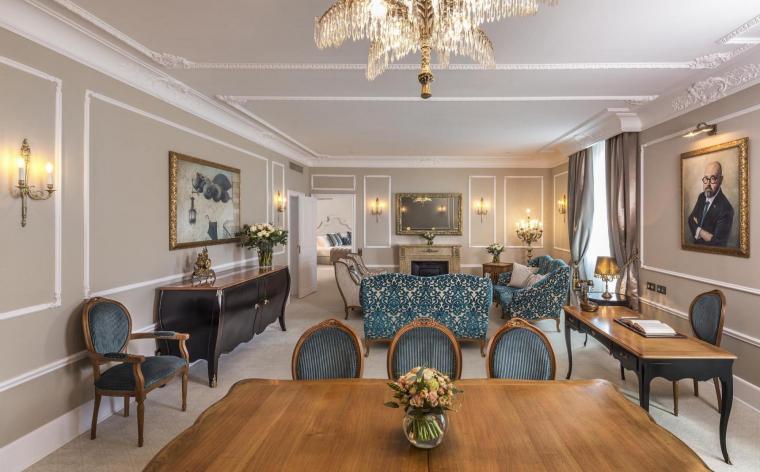 Suite Carlos Ruiz Zafón del Palace Hotel de Barcelona