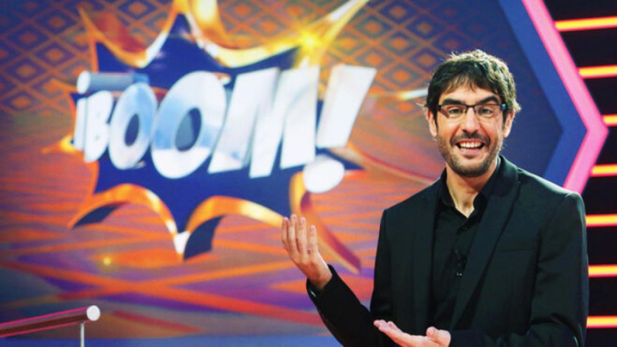 Juanra Bonet és el presentador