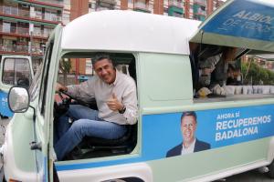 Albiol guanyarà les eleccions municipals a Badalona segons l'última enquesta