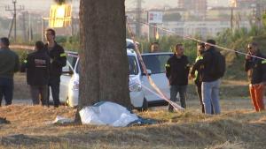 El cos trobat, i que podria ser el de Janet Jumillas, estava enterrat en un sot entre dos arbres