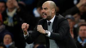 Guardiola s'ha mostrat visiblement enfadat amb la pregunta d'un periodista durant una roda de prensa del Manchester City