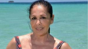 Isabel Pantoja ha lluit el model 'Canarias'