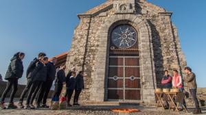 La prova d'exterior d'aquesta setmana es va dur a terme a San Juan de Gaztelugatxe
