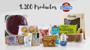 Mercadona té més d'un miler de productes sense gluten