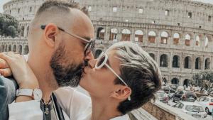 Roma és la ciutat favorita de Risto Mejide i Laura Escanes