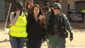 Tamara Carrasco duia confinada a Viladecans més d'un any